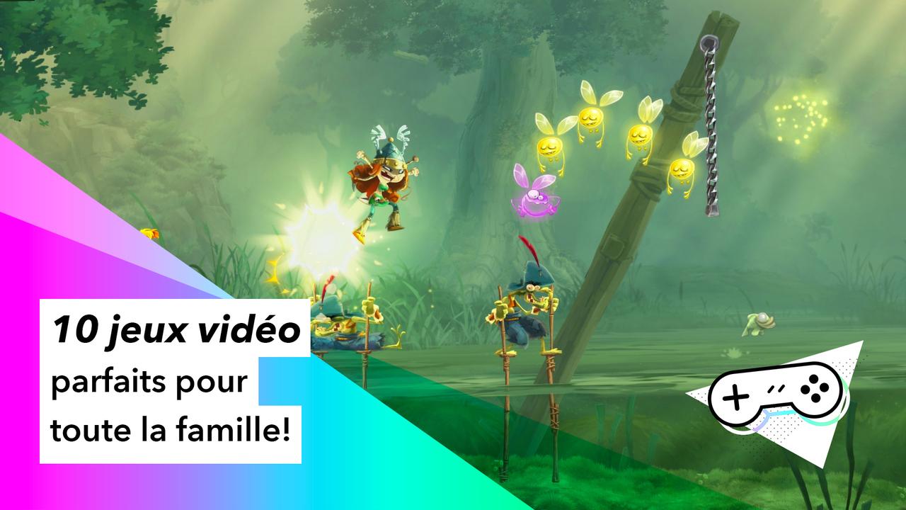 10 Jeux Vidéo Parfaits Pour Toute La Famille | Pèse Sur dedans Jeux Pc Enfant