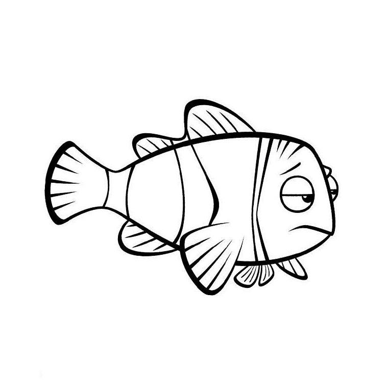 106 Dibujos De Pescado Para Colorear | Oh Kids | Page 7 tout Coloriage De Poisson A Imprimer Gratuit