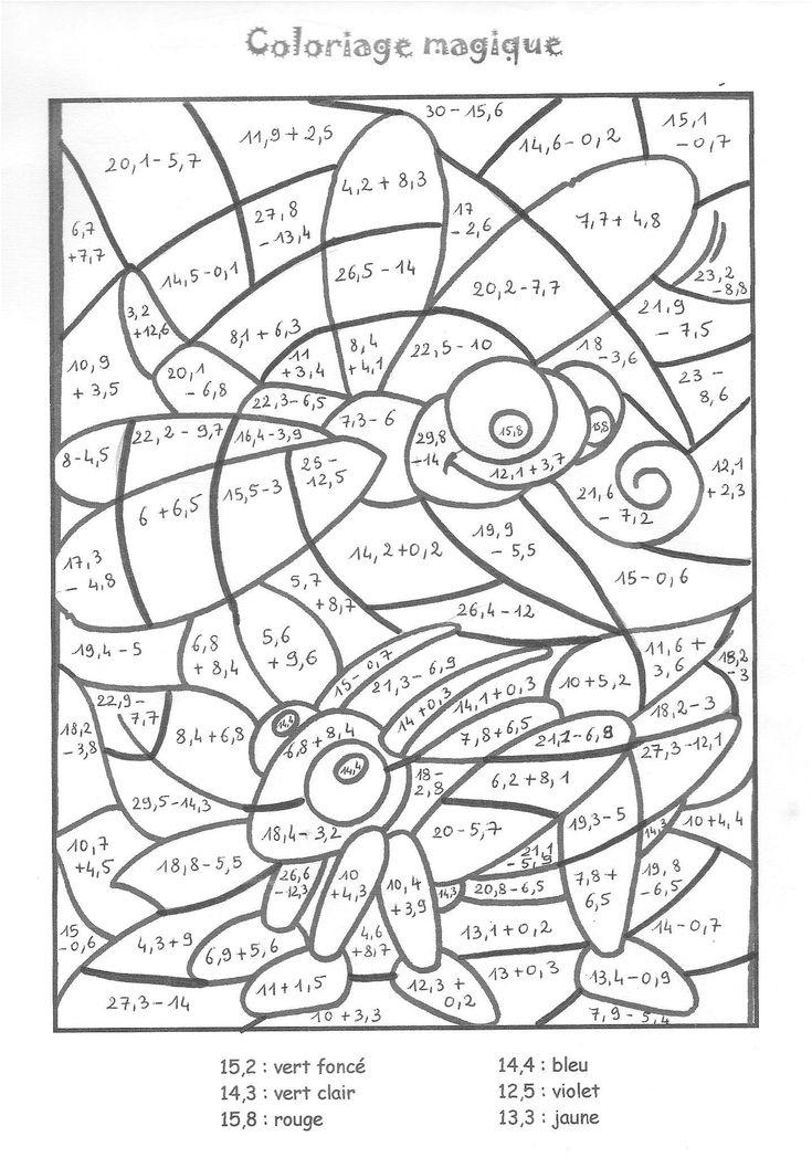 11 Attrayant Coloriage Magique Table De Multiplication intérieur Coloriage Magique De Multiplication