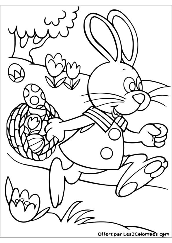119 Dessins De Coloriage Pâques À Imprimer intérieur Coloriage De Paques A Imprimer