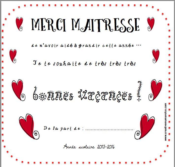 12 Best Merci Maîtresse ! Images On Pinterest   Gift Ideas encequiconcerne Poeme Pour Maitresse D Ecole