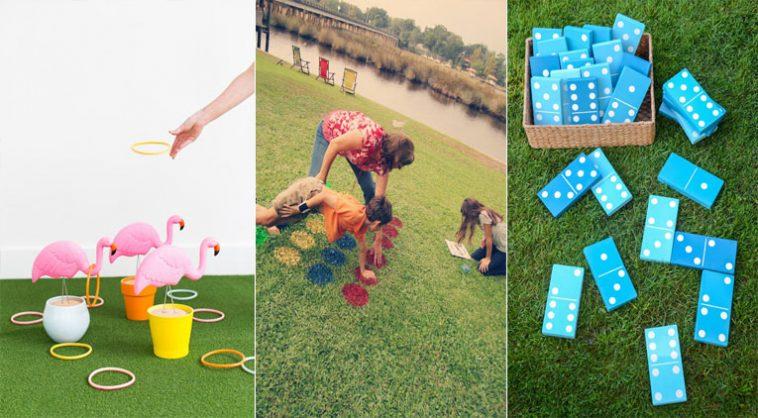 12 Jeux D'Extérieur À Fabriquer Vous-Même Pour Occuper Vos destiné Jeux Simples À Fabriquer