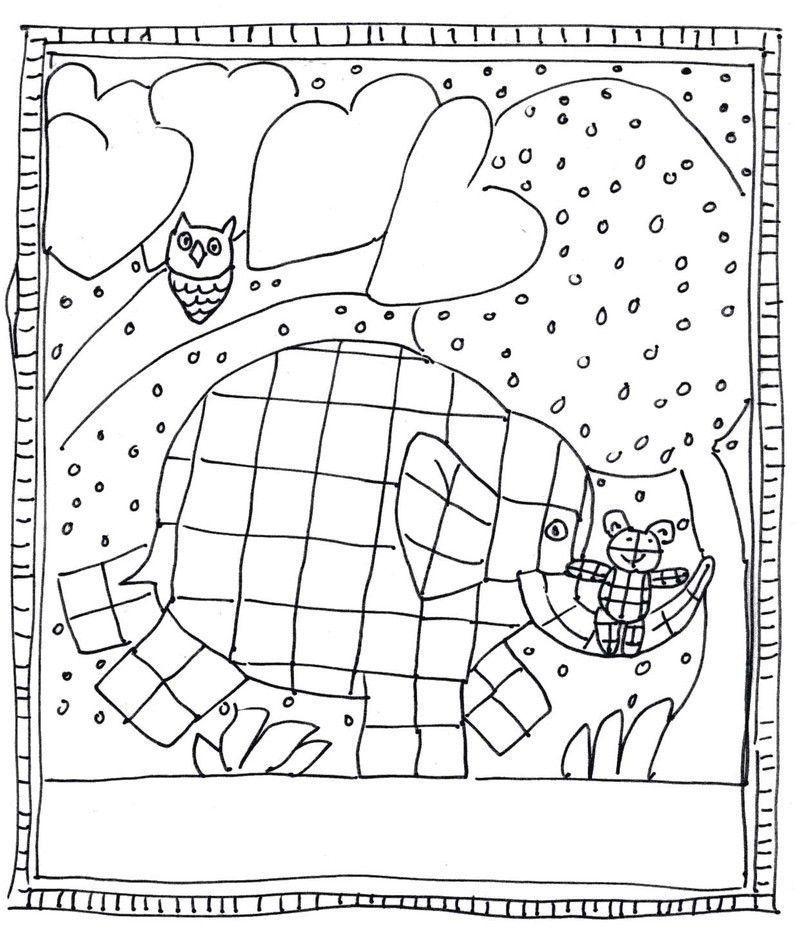 13 Cher Coloriage Elmer Pictures   Coloriage Elmer dedans Coloriage Magique Elmer