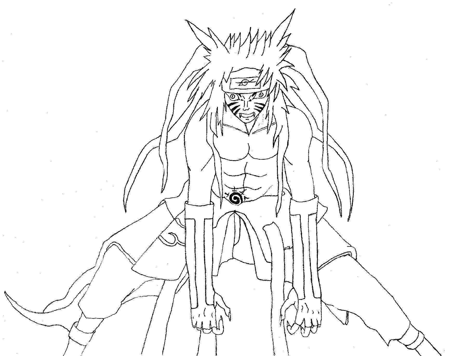 133 Dibujos De Naruto Para Colorear | Oh Kids | Page 9 intérieur Coloriage De Naruto Shippuden A Imprimer