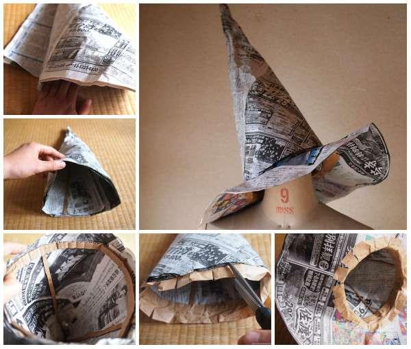 140 Idées Pour Recycler Le Papier Journal (Ou Le Papier En intérieur Création Avec Du Papier