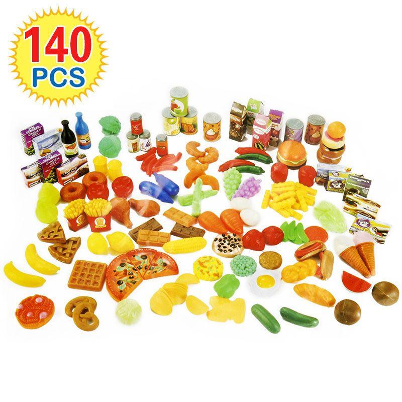 140 Pcs Enfants De Coupe Fruits Légumes Jeux De Simulation destiné Jeux Ou On Coupe Des Fruits