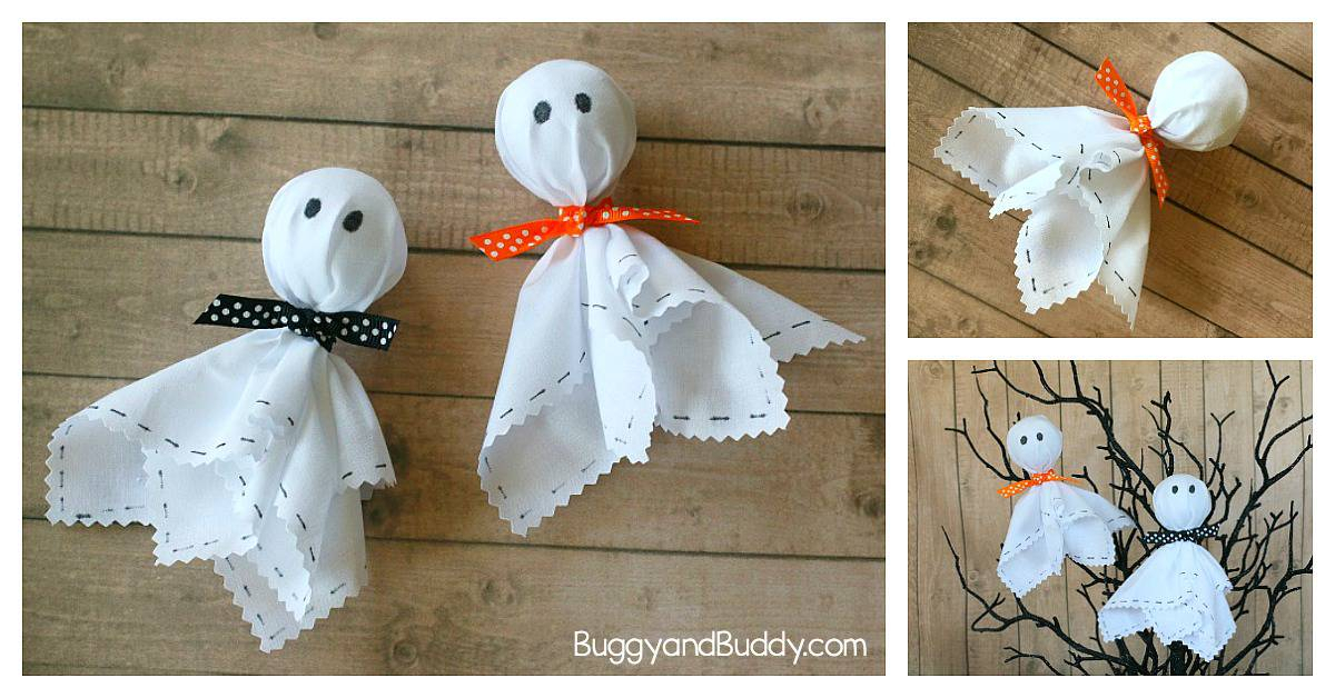 15 Artisanat Fantôme Halloween Non-Effrayant Pour Les intérieur Fantome Halloween