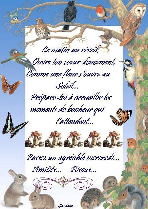 20 Best Bon Mercredi Images On Pinterest   Happy Wednesday serapportantà Bon The Bonheur