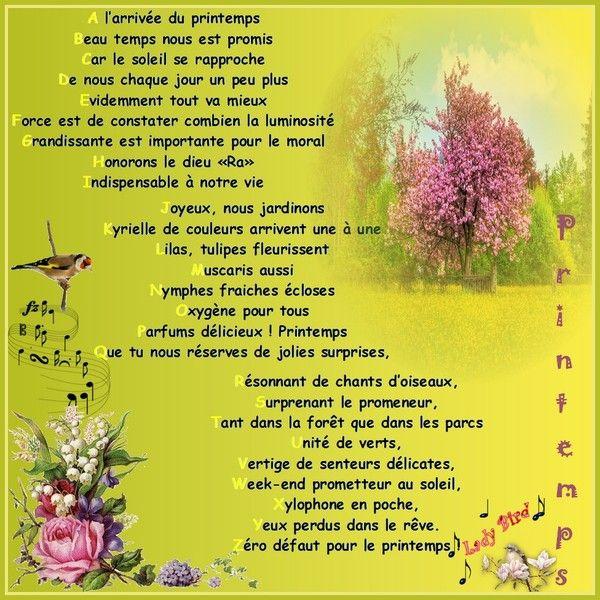 2948 Mars 2012 Le Printemps Est Là destiné Poésie Le Printemps