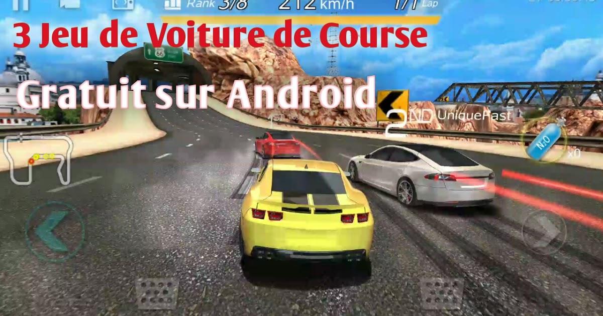 3 Jeu De Voiture De Course (Gratuit) Sur Android - Izanami.top avec Un Jeu De Voiture De Course