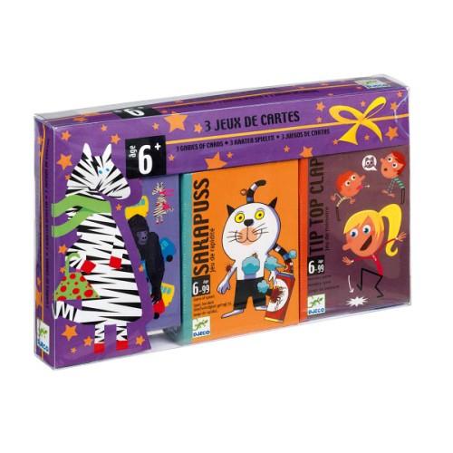 3 Jeux De Cartes Djeco Pour Enfant De 6 Ans À 10 Ans intérieur Jeux De 6 Ans Gratuit