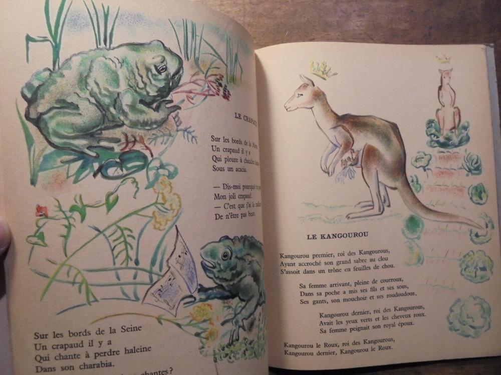 30 Chantefables Pour Les Enfants Sages Robert Desnos 1944 intérieur Le Tamanoir Poésie