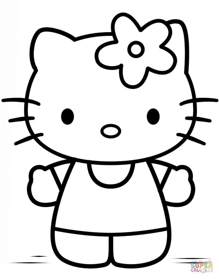 30 Hello Kitty Ausmalen - Besten Bilder Von Ausmalbilder intérieur Hello Kitty À Dessiner