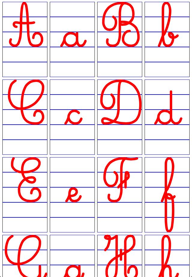302 Found pour Comment Écrire Les Lettres De L Alphabet Français