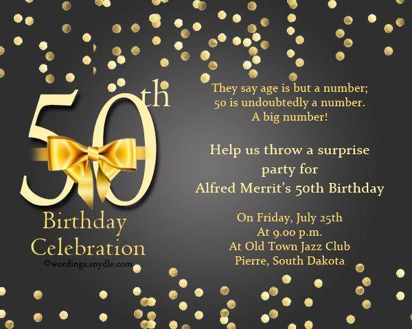 35 50Th Birthday Invitation Template Free   Birthday Party concernant Invitation 35 Ans