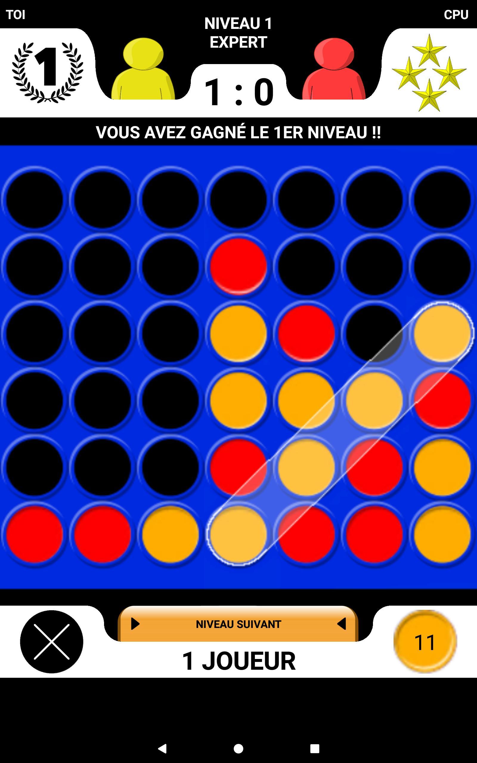 4 En Ligne - Le Jeu De Société Pour 2 Joueurs Pour Android encequiconcerne Jeux Gratuit Puissance 4
