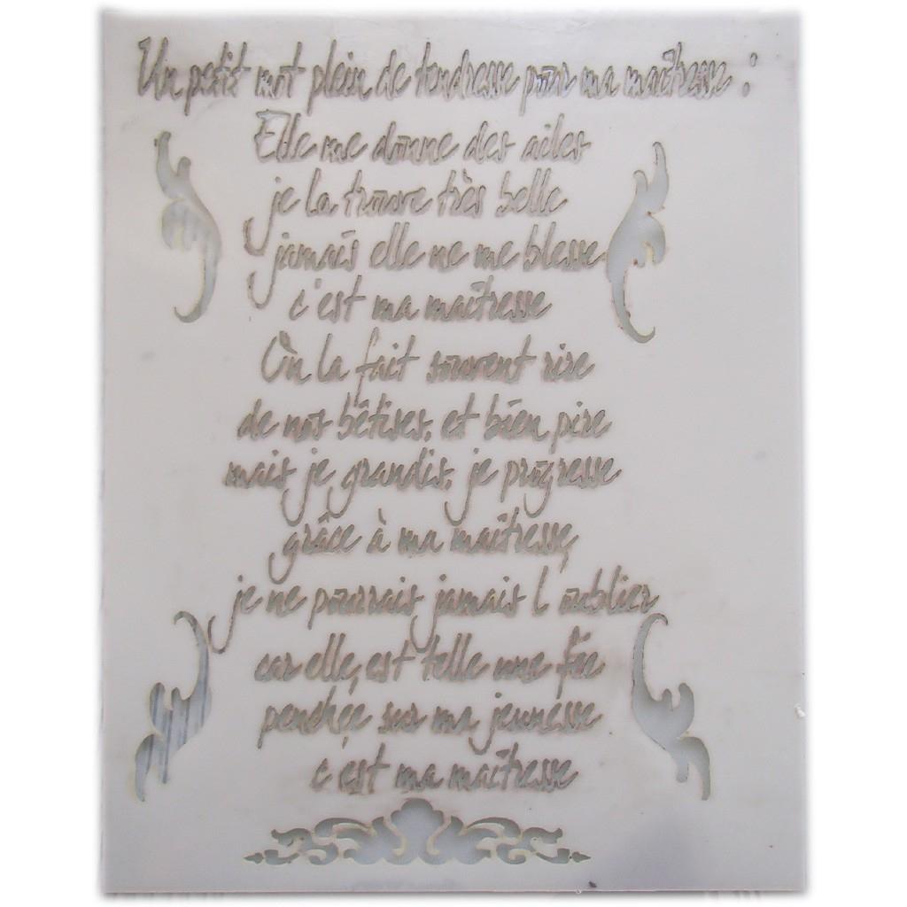 [50] Citation Maitresse École avec Poeme Pour Maitresse D Ecole
