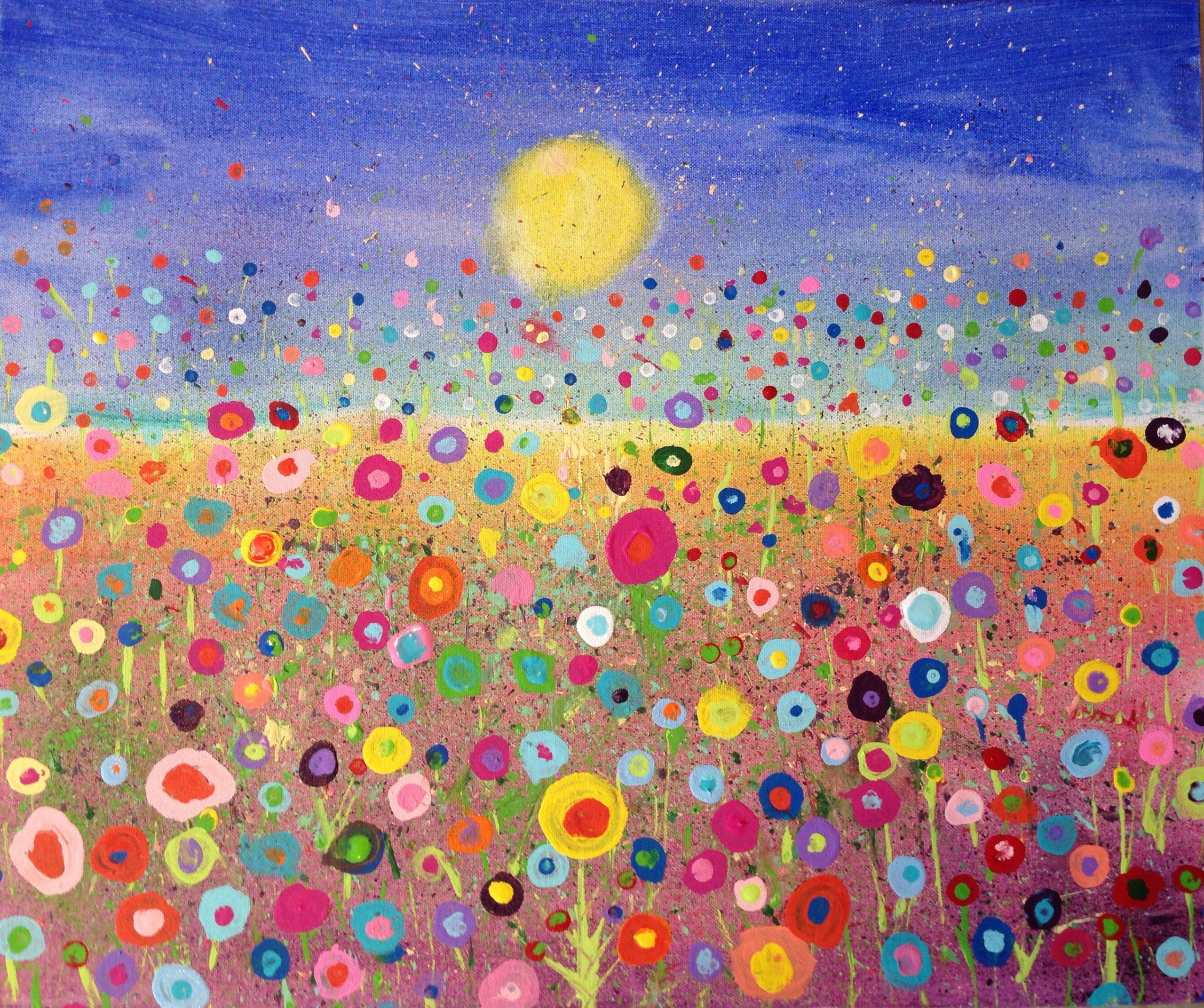 6Th-Grade (2692×2253) | Abstract Floral Art, Floral avec Peinture Ms
