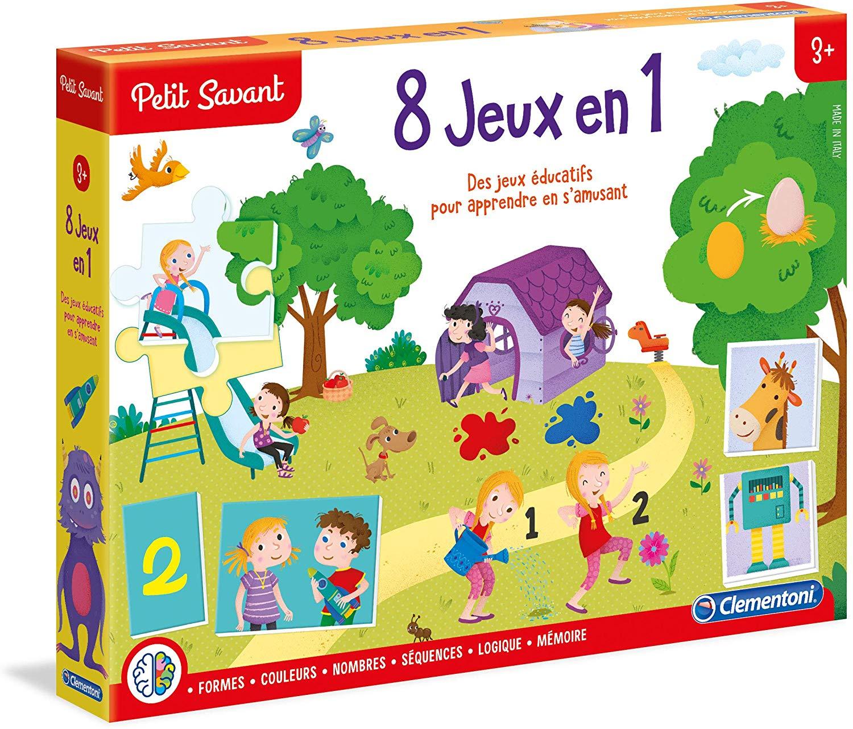 8 Jeux En 1 - Clementoni Petit Savant Encequiconcerne Jeux tout Jeux Educatif 3 Ans En Ligne