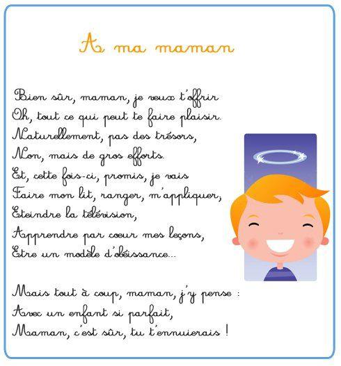 9 Bon Poeme Pour Enfant Images En 2020 | Poeme Pour Enfant destiné Poeme D Enfant