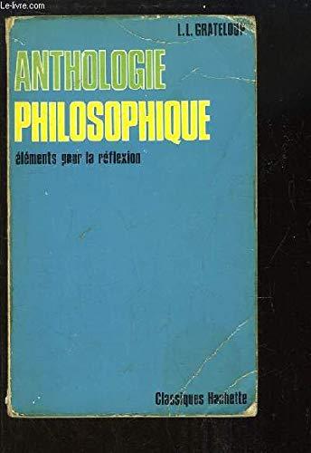 9782010006463: Anthologie Philosophique - Abebooks - Léon dedans Livre Reflexion Philosophique