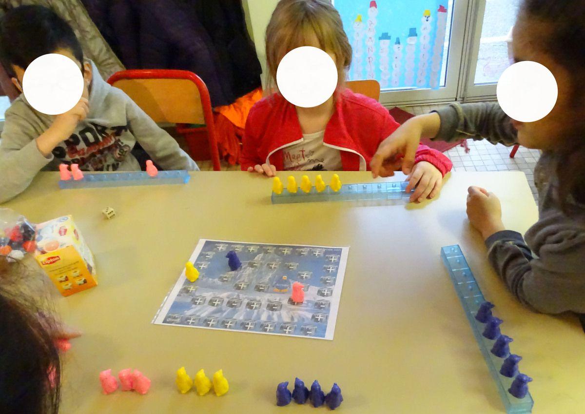Additionner Soustraire Avec Les Pingouins Ms-Gs Début Cp concernant Jeux Mathématiques Ms