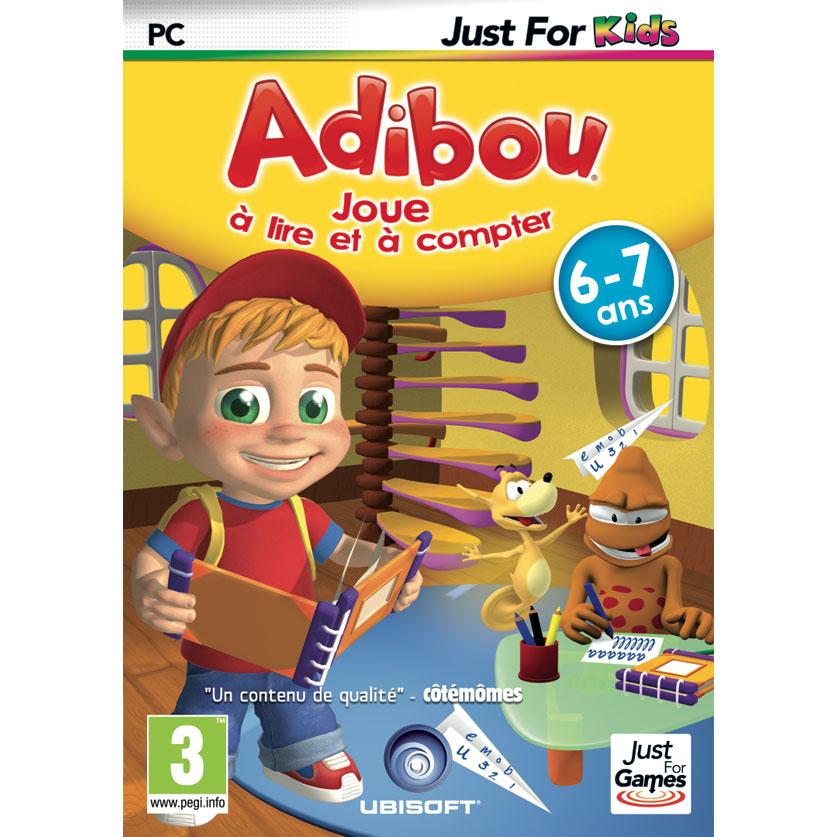Adibou 6/7 Ans Joue À Lire Et À Compter (Pc) - Jeux Pc pour Jeux Enfant 7 Ans