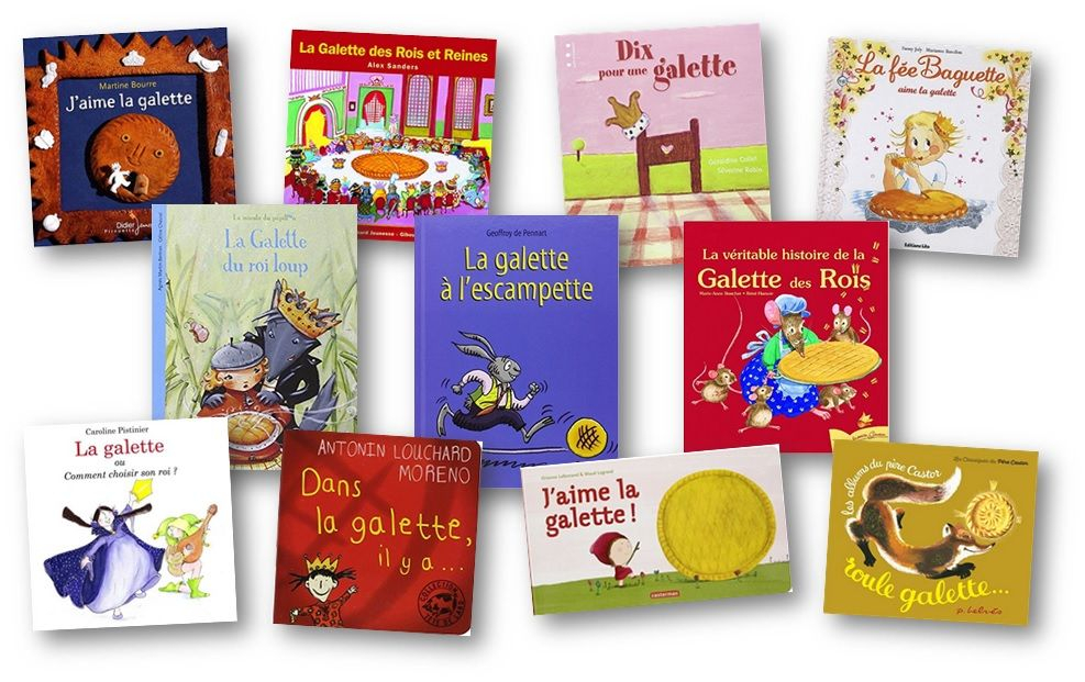 Albums Sur La Galette Des Rois En Maternelle Et Au Cycle 2 tout La Galette Des Rois Maternelle