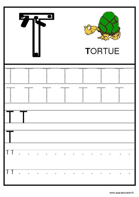 Alphabet - Ecrire Les Lettres - Ecriture - Maternelle concernant Apprendre À Écrire Les Lettres En Maternelle