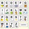 Alphabet Portugais En Images À Imprimer - Tests & Jeux intérieur Jeux Éducatifs Collège À Imprimer