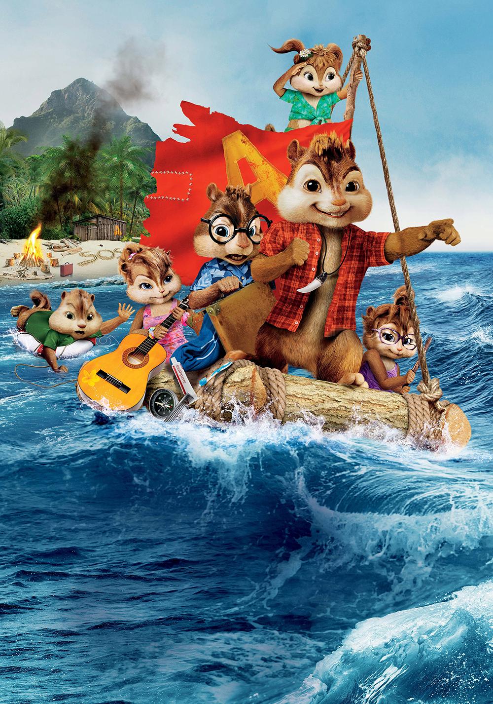 Alvin And The Chipmunks: Chipwrecked | Movie Fanart tout Dessin Animé Alvin Et Les Chipmunks
