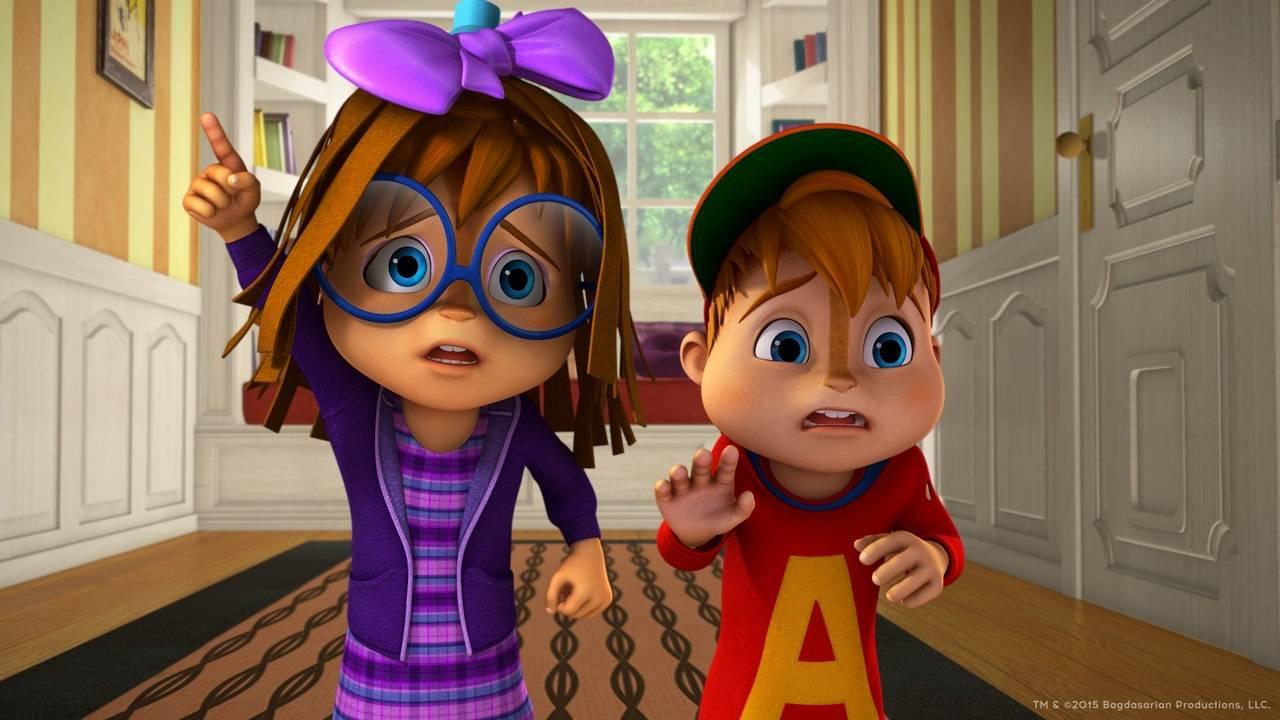 Alvinnn !!! Et Les Chipmunks S03E40 Jours De Gloire pour Dessin Animé Alvin Et Les Chipmunks