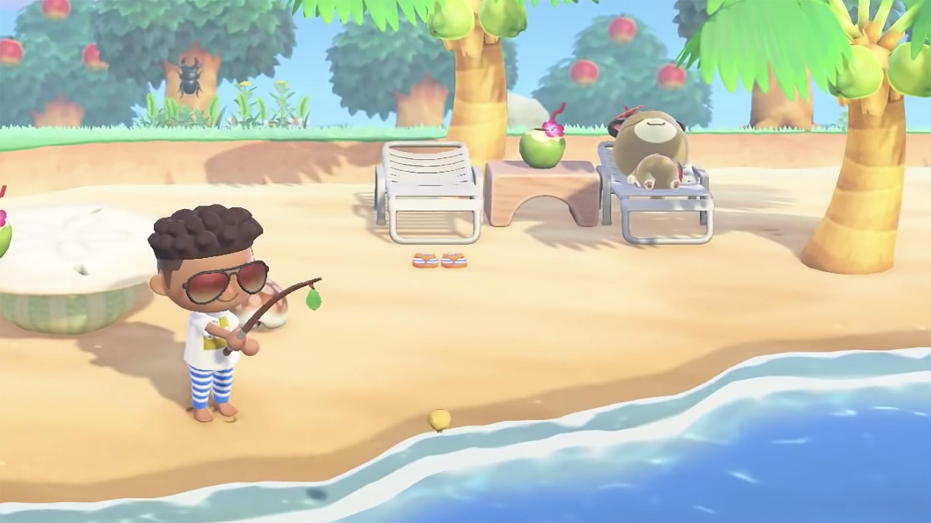 Animal Crossing New Horizons : Voici Les Poissons Et destiné Le Jeu Du Poisson Bleu