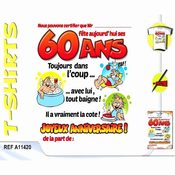 Anniversaire 60 Ans Homme Texte - Existeo.fr tout Texte Humoristique Pour Invitation Anniversaire 60 Ans