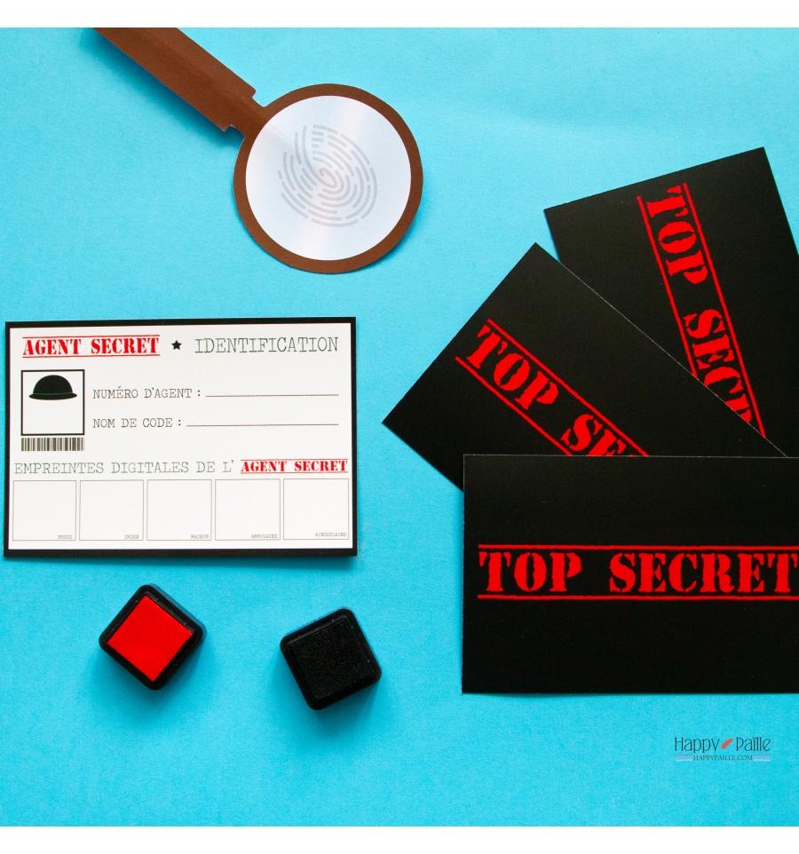 Anniversaire Agent Secret - Carte Agent Secret tout Invitation Anniversaire Agent Secret