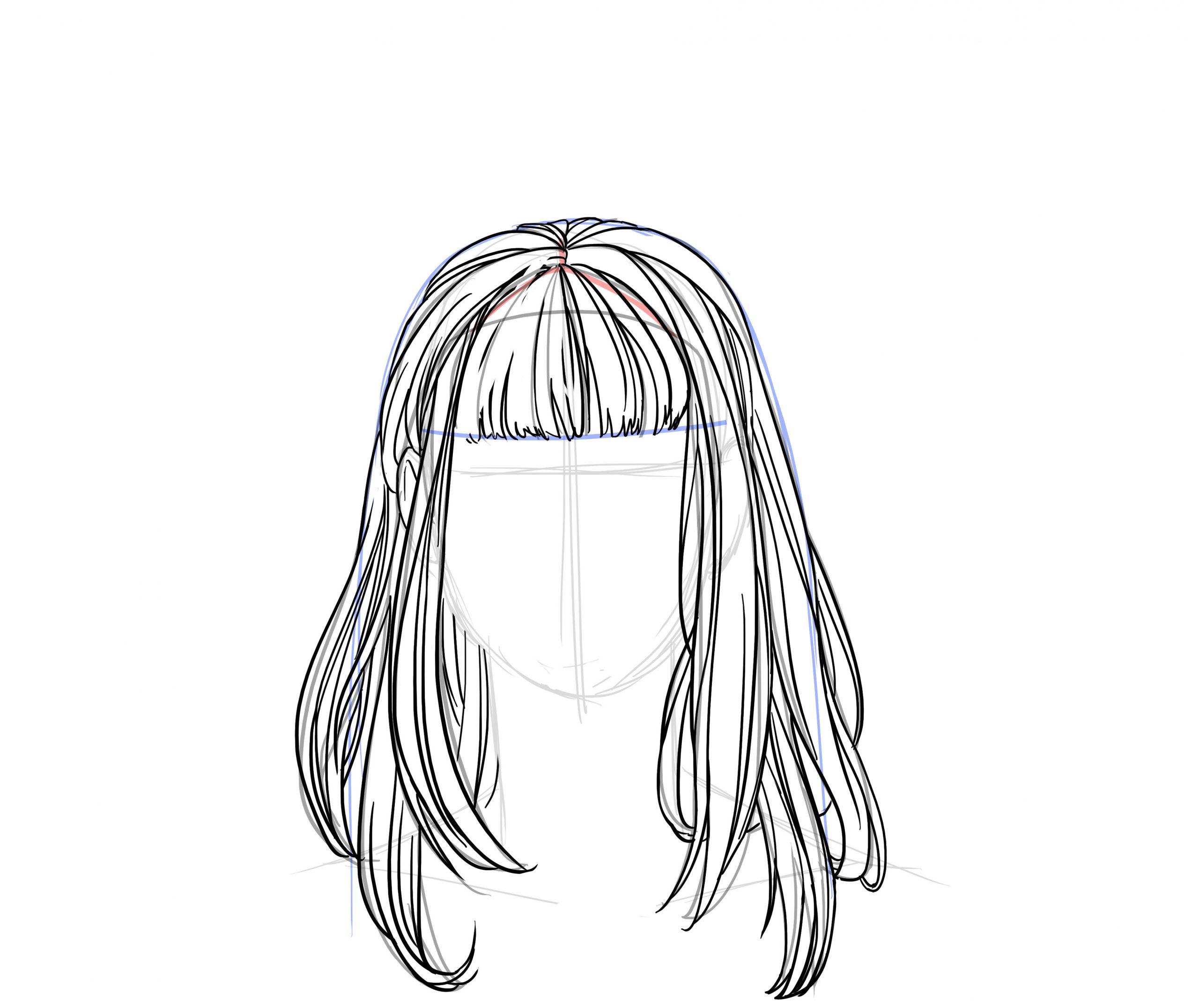 Apprendre À Dessiner Des Cheveux - Dessindigo tout Comment Dessiner Un Marteau