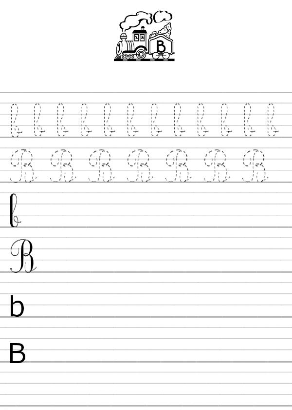 Apprendre À Écrire La Lettre B En Minuscule Et En serapportantà Apprendre À Écrire Les Lettres En Maternelle