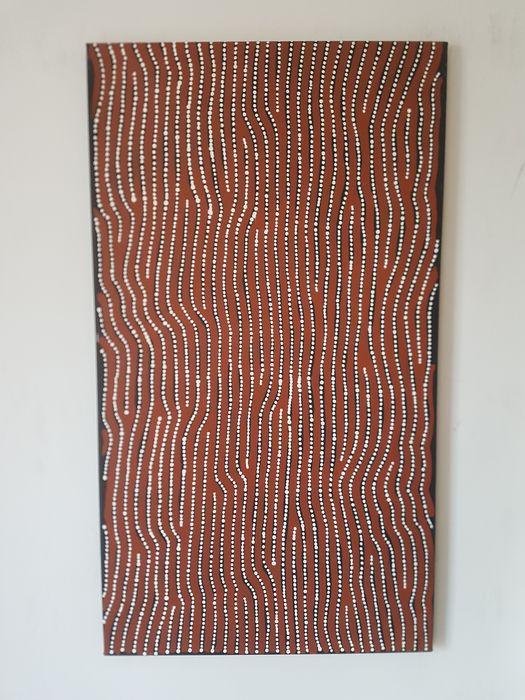 Art Aborigene D'Occasion | Plus Que 2 À -70% serapportantà Livre Peinture Aborigene