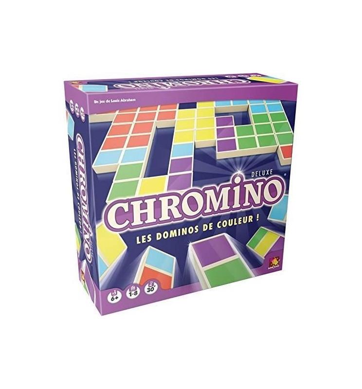Asmodee - Chromino Deluxe - Jeu De Société serapportantà Jeu De Chromino