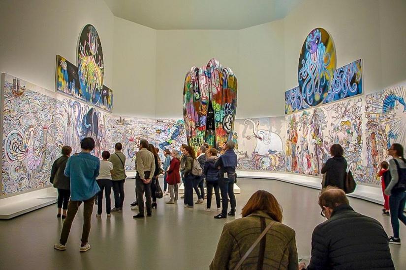 Au Diapason Du Monde, L'Exposition À La Fondation Louis tout Exposition Moma Fondation Louis Vuitton
