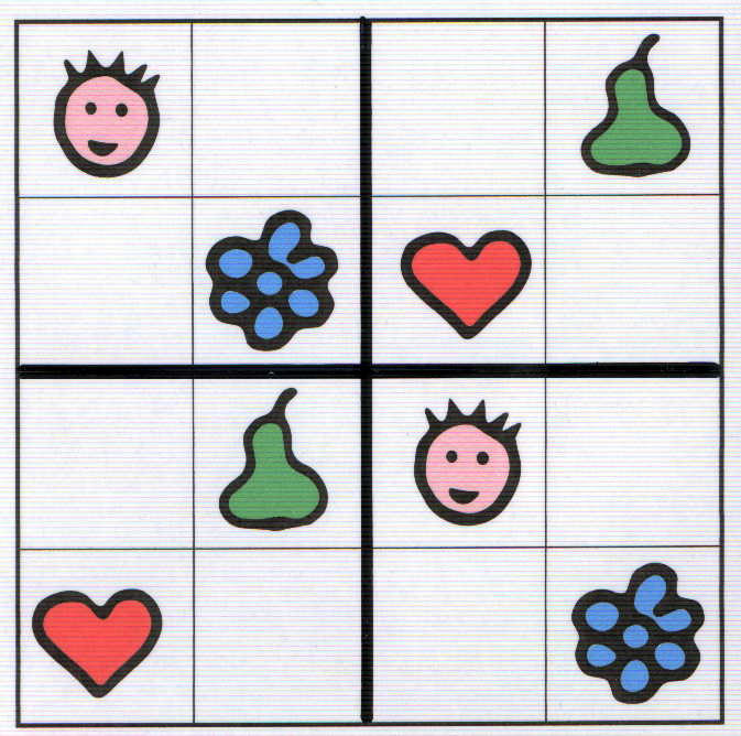 Aventures Mathématiques: Sudokus Pour Les Maternelles tout Sudoku Gs