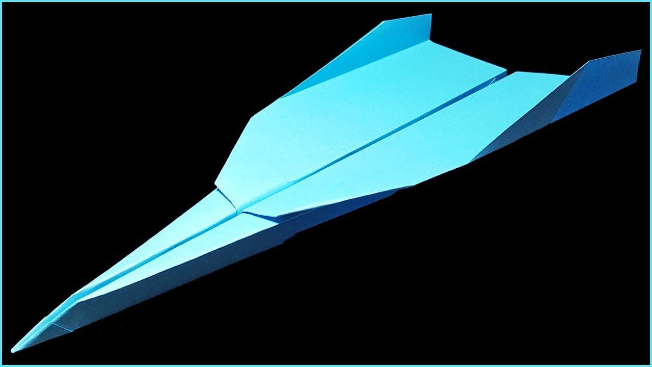 Avion En Papier Qui Vole Longtemps - Tuto En 2020 | Faire destiné Comment Fabriquer Un Avion En Papier