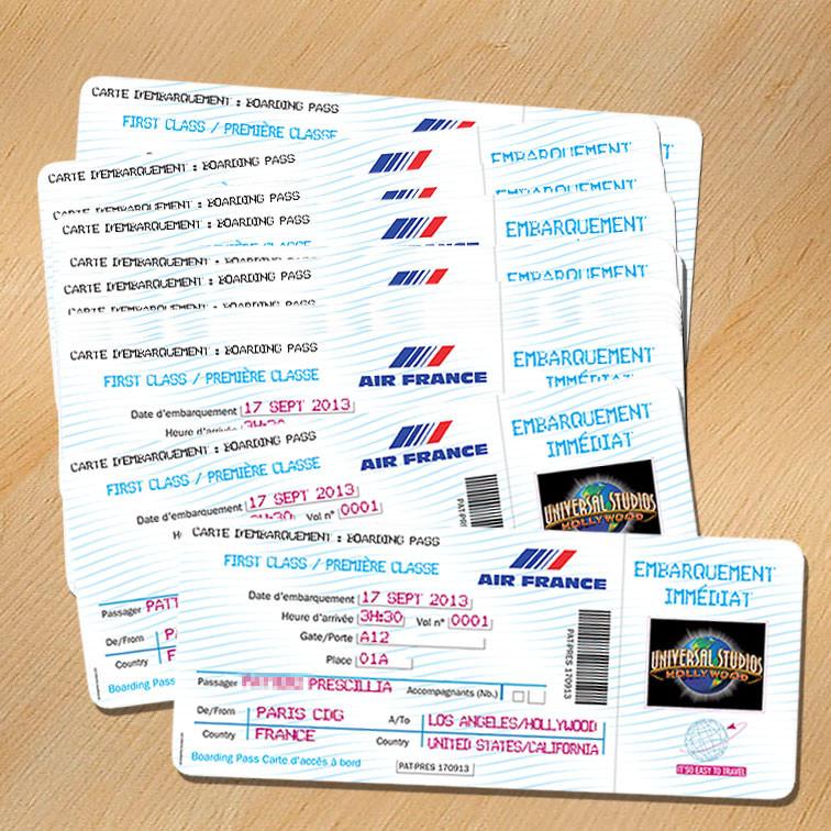 Billet D'Invitation Anniversaire Gratuit Luxury Faire Part pour Invitation Anniversaire Billet Avion
