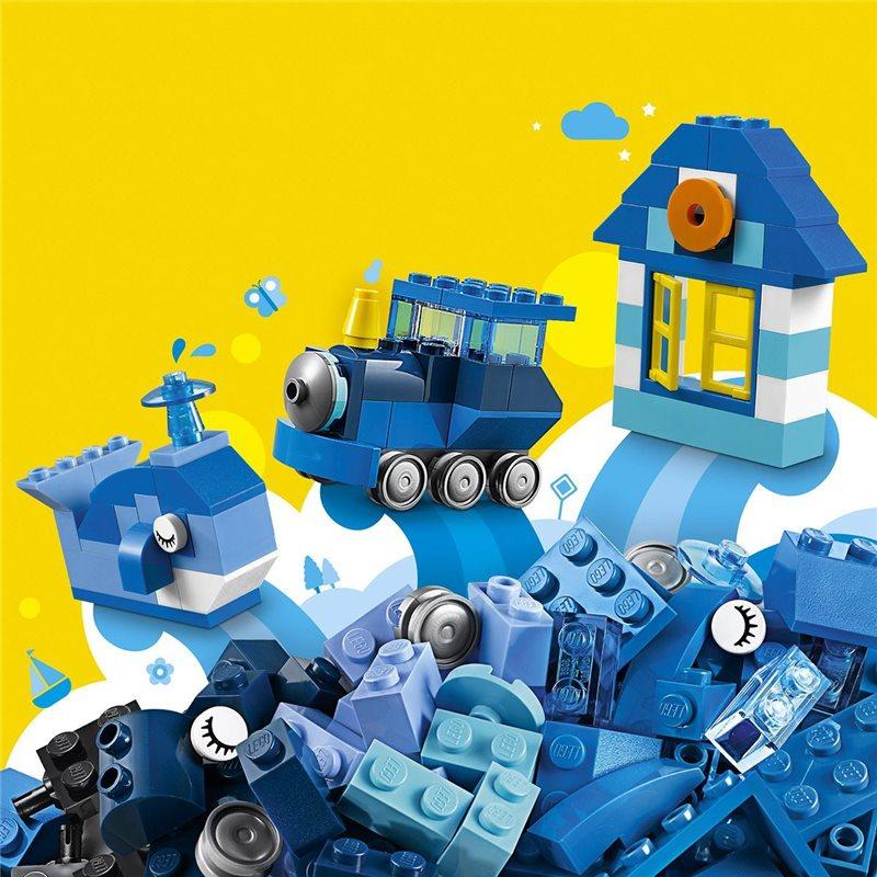 Boîte De Construction Bleue - Lego 10706 À 4,99 € Sur avec Jeux Construction Lego