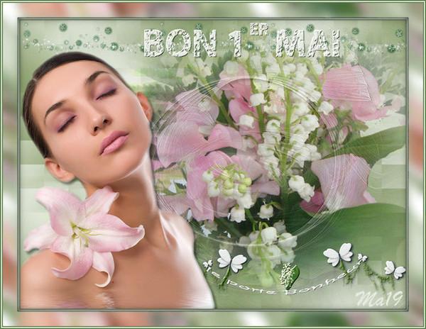Bon 1Er Mai : Muguet Porte-Bonheur encequiconcerne Bon The Bonheur