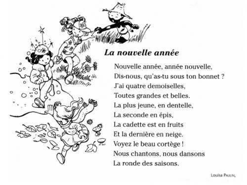 Bonne Et Heureuse Année Nouvelle   La Passion Au Bout Des encequiconcerne Nouvel An Poeme