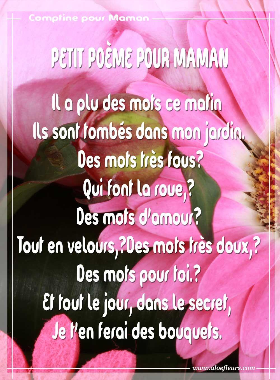 Bonne Fête Maman: Poèmes Ou Messages D'Amour, Citations Ou destiné Pour Ma Maman