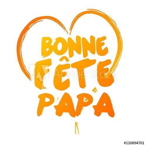 Bonne Fête Papa - Acheter Ce Vecteur Libre De Droit Et serapportantà Message Bonne Fete Papa