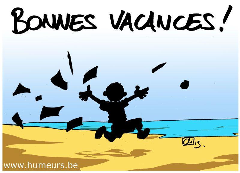 Bonnes Vacances ! | Bonne Vacances, Vacances, Vacances serapportantà Image Humoristique Vive Les Vacances