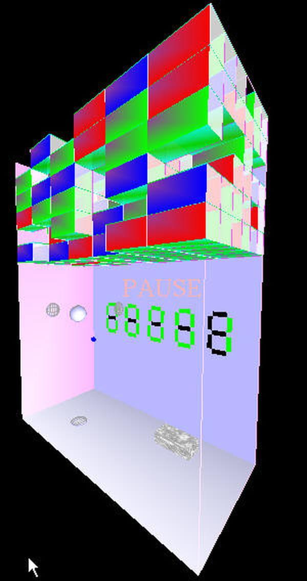 C / C++ / C++ : Jeu : Casse Brique 3D - Codes Sources dedans Le Casse Brique